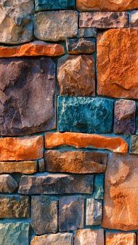 石墙 创意 风景 景色