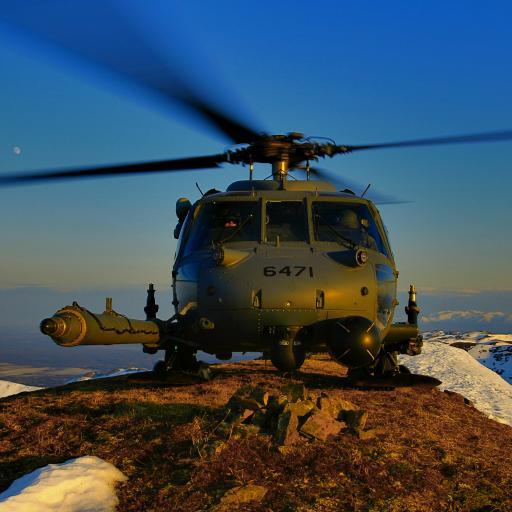 战斗机 直升机 螺旋桨 山顶 武器