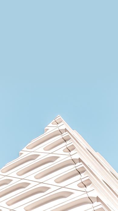 建筑 楼房 设计 现代 蓝白 小清新