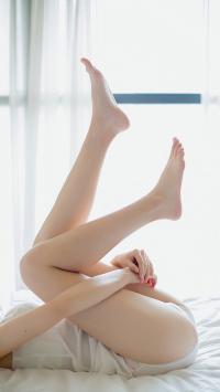 美腿 大长腿 性感 女性 白色