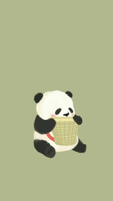 卡通 熊猫 动漫 可爱