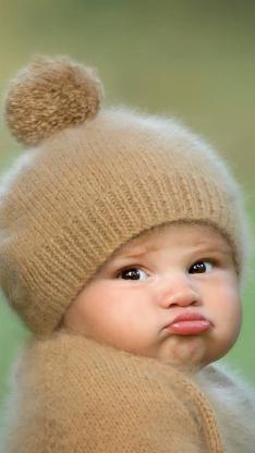宝宝 萌娃 可爱 帽子