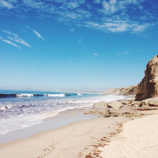 海岸 礁石 海浪 大海 风景