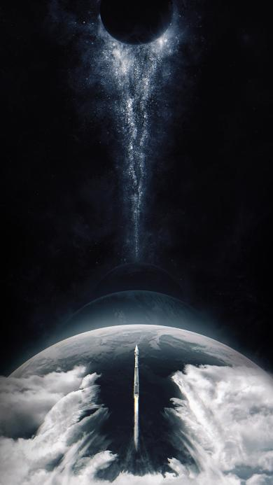 火箭 太空 星球 宇宙 科技