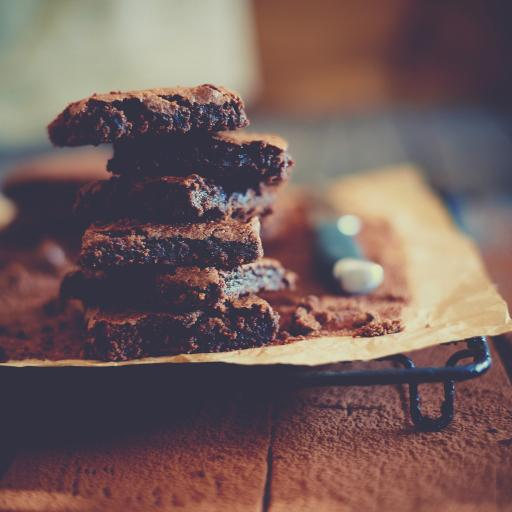 烘焙 把那个 巧克力 甜品 甜食 点心