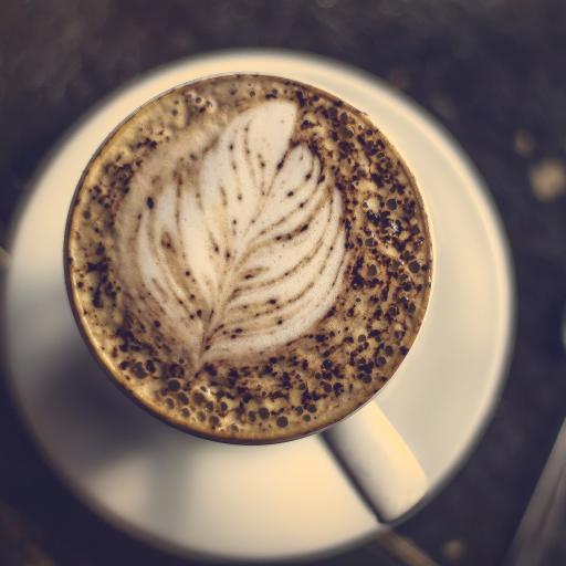 咖啡 拉花 卡布奇诺 提神