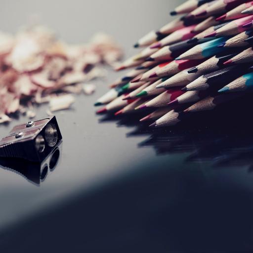 铅笔 创意 削笔刀 滤镜