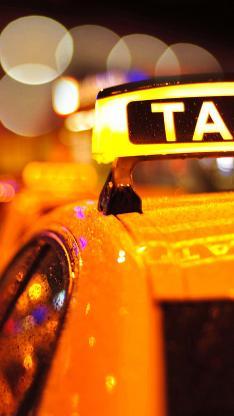 taxi 出租车 风景 滤镜