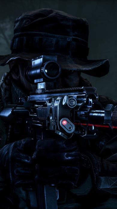 射击 战士 武器 黑夜
