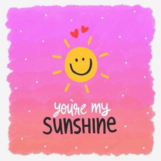 小太阳 you are my sunshine