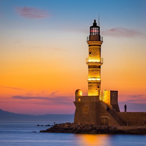 灯塔 海边 照明 指向标