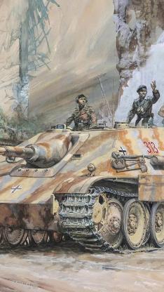 坦克 战车 士兵 军事