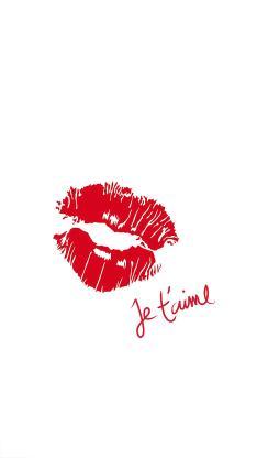 唇印 口红 红唇 吻痕