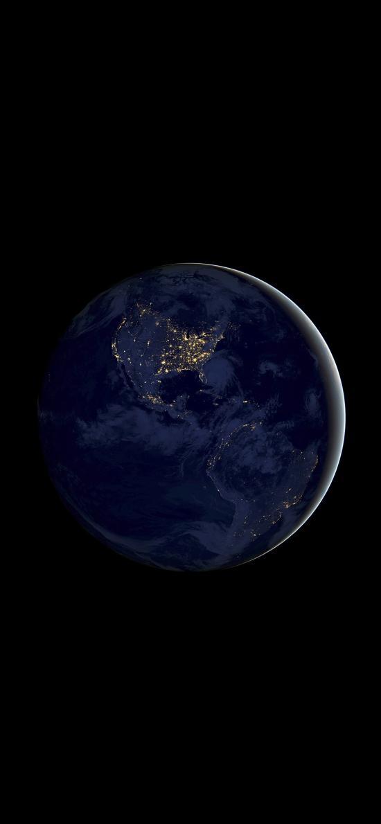 地球 宇宙 太空 iOS11内置壁纸