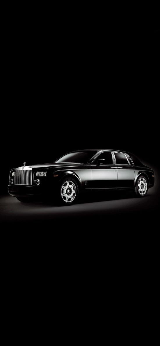 劳斯莱斯 黑色 豪车 豪华 顶级轿车