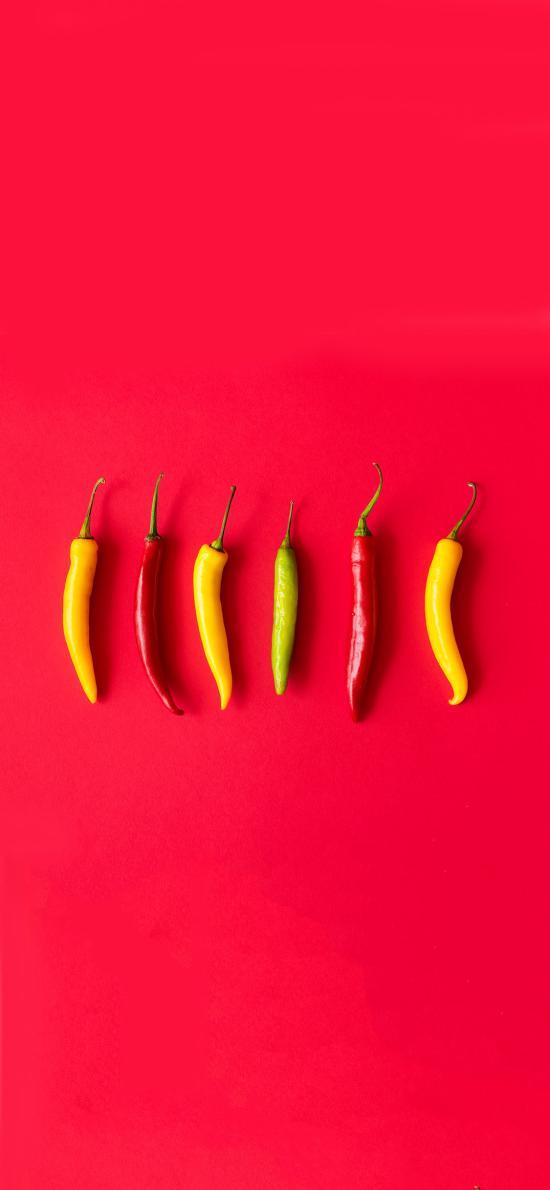 辣椒 创意 色彩 食材