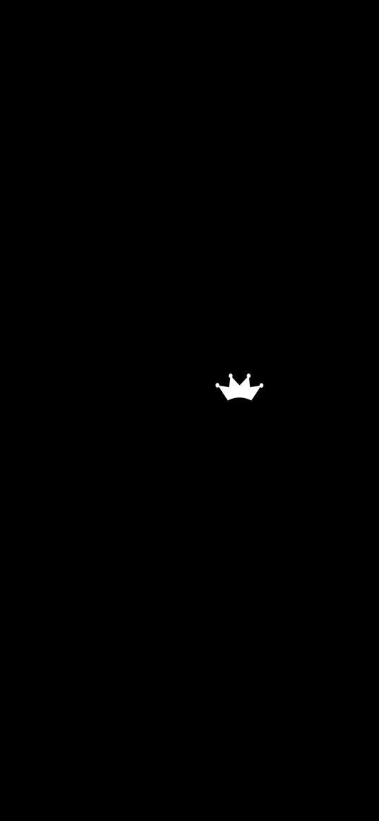 皇冠 黑白 简笔画