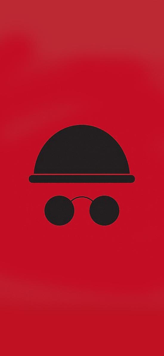 里昂 红黑 简约 创意