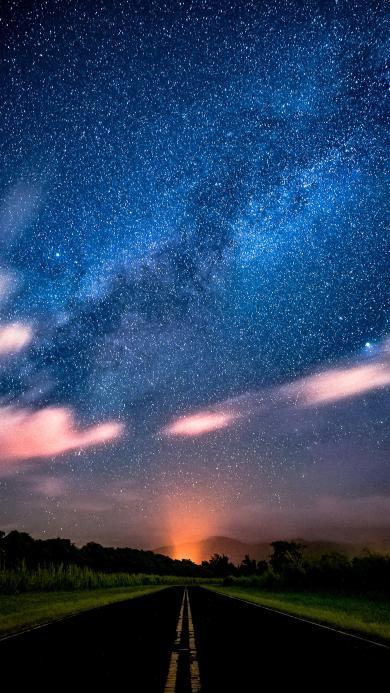 星空 自然 宇宙 星河