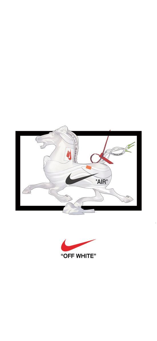 耐克 品牌 潮流 唐三彩 马 logo 运动