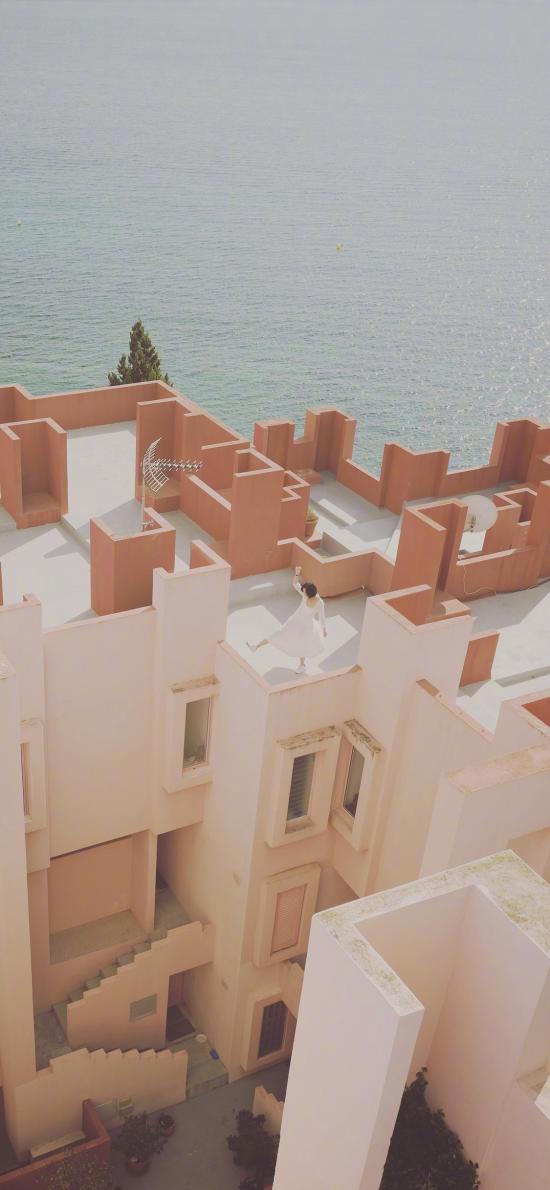 建筑 城市 几何 结构 现代 海边