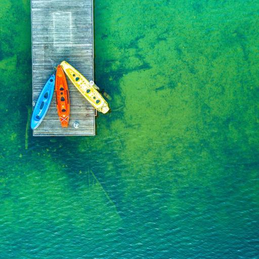 划艇 色彩 码头 海水