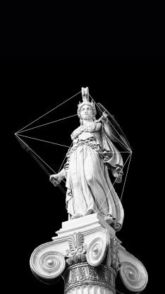 雅典娜 希腊神话 保护神 女神 雕塑