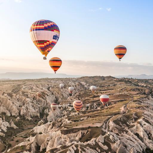 热气球 天空 土耳其 唯美