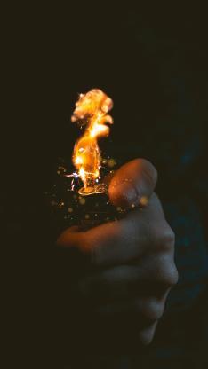 打火机 火焰 火花