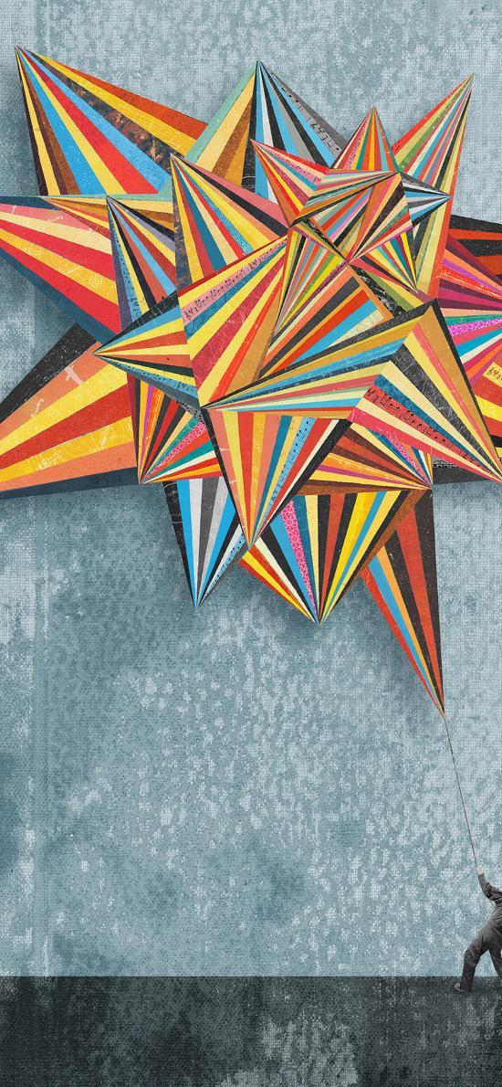 几何图形 色彩 创意 艺术