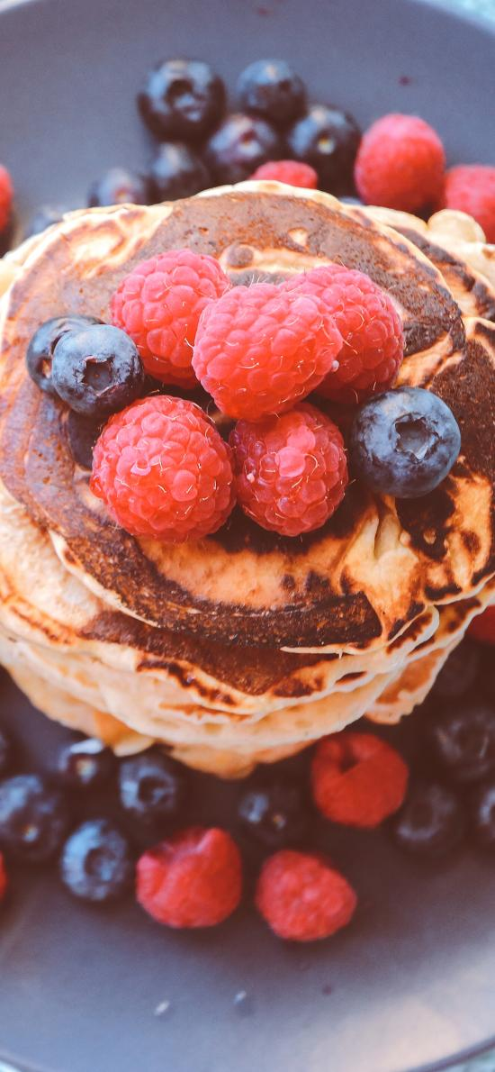 水果 蔓越莓 树莓 蓝莓 水果派 摆设