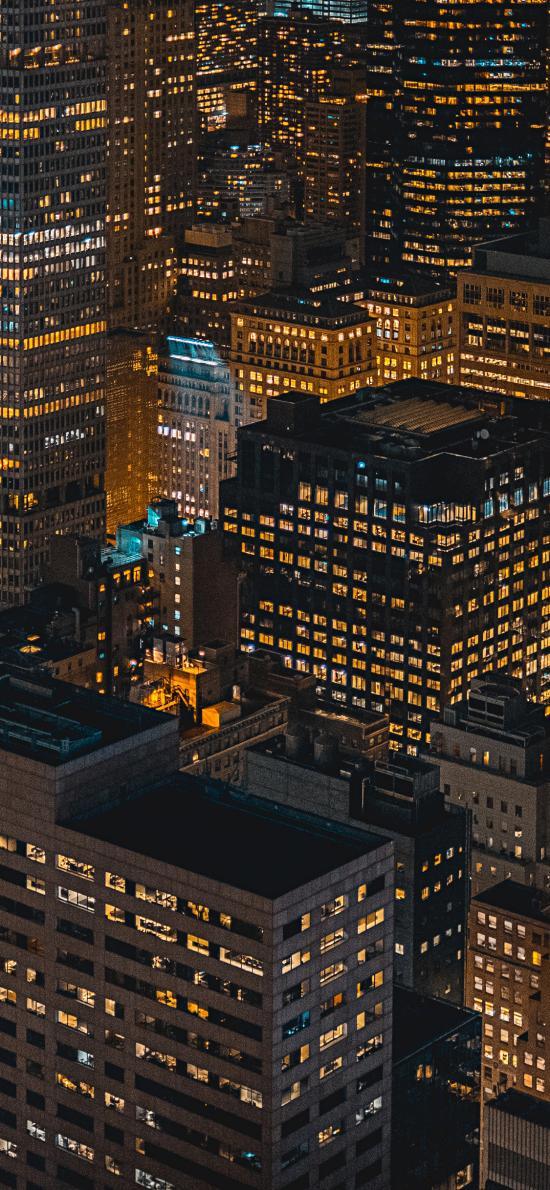 城市 夜景 都市 建筑 楼房