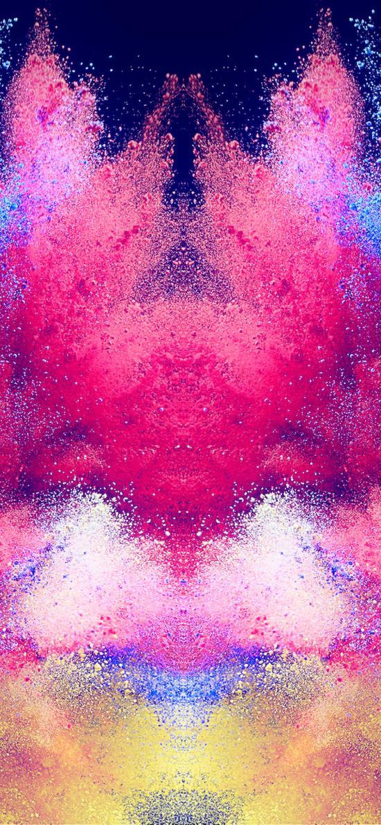 创意 爆破性粉末 色彩粉末 色彩