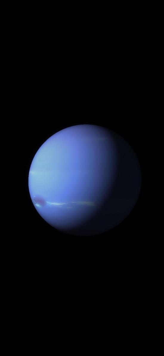 苹果IOS10官方内置壁纸 星球 宇宙 蓝色