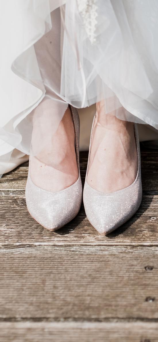 情侣 高跟鞋 婚纱
