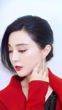 范冰冰 演员 艺人 红唇