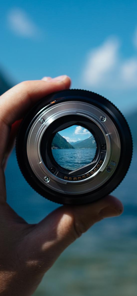 镜头 山水 摄影 相机
