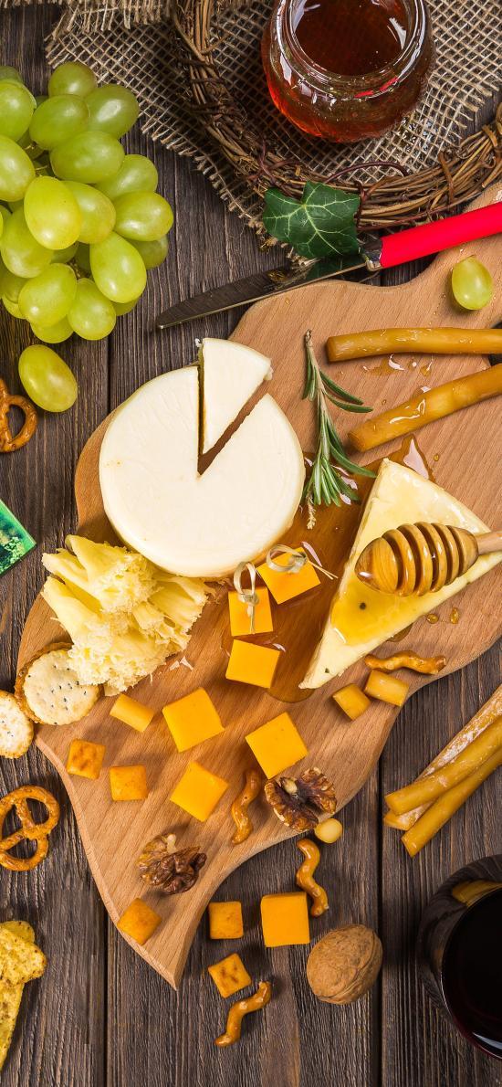 葡萄 饼干 乳酪 坚果 品种