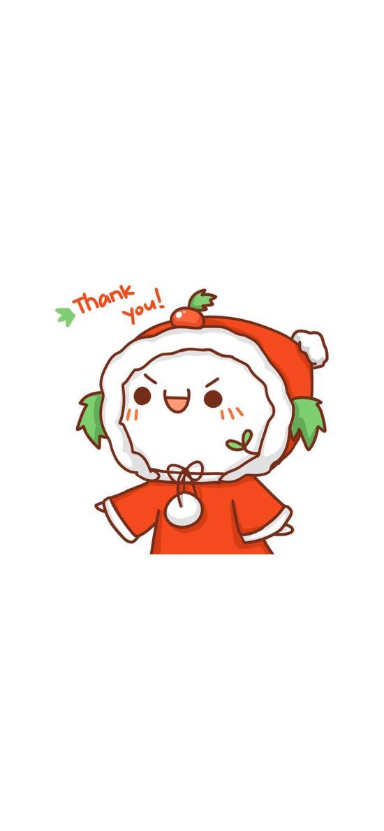 情侣 圣诞 圣诞帽 礼物 女孩 thank you 谢谢