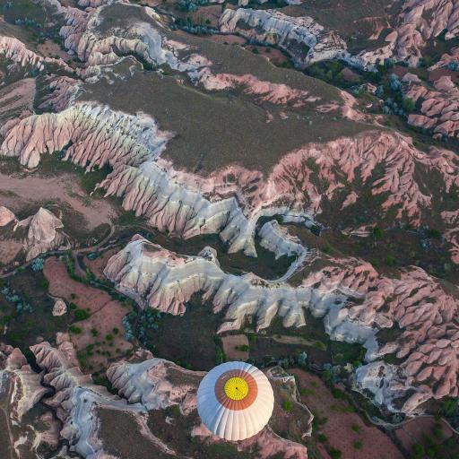 地貌 热气球 景观 大自然