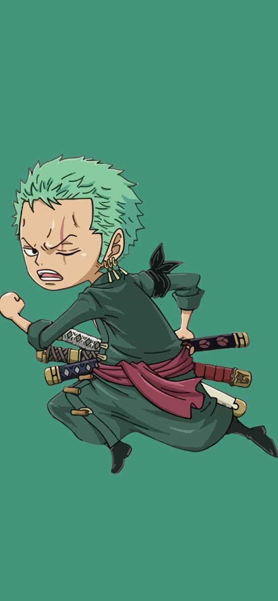 海贼王 索隆 三剑客 绿藻头 绿