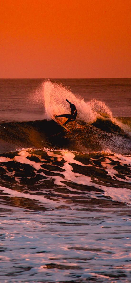 大海 极限运动 冲浪 刺激