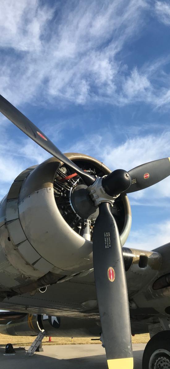 战斗机 螺旋桨 飞机 航空