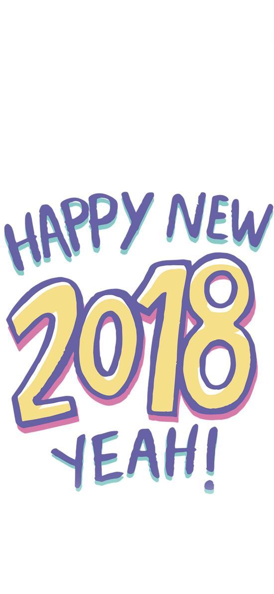 2018 happy new year 新年