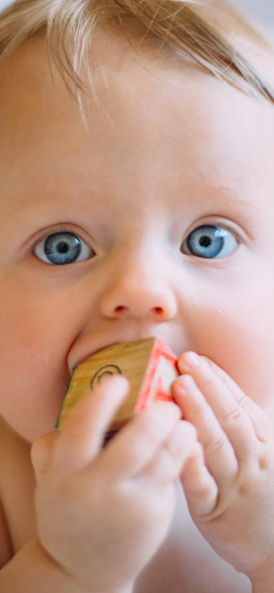 婴儿 宝宝 北鼻 可爱 萌 欧美 蓝眼睛