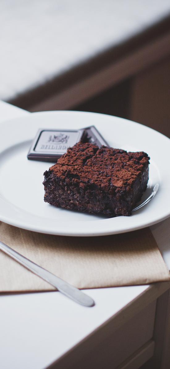 甜品 点心 巧克力 黑松露