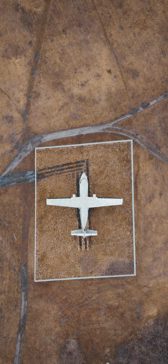 飞机 停机场 荒野