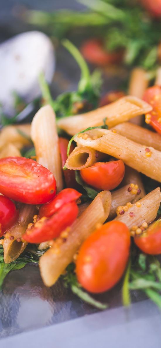意大利面 小番茄 美食 烹饪
