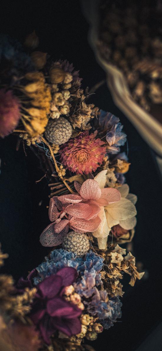 花环 创意 植物 编织