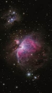 星空 宇宙 璀璨 星系